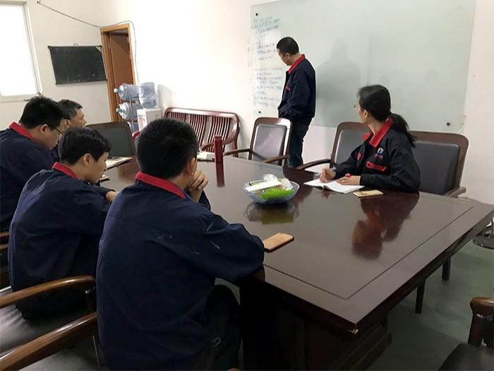 嘉科机械-团队生产分析会