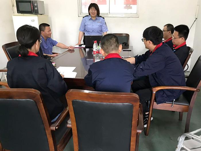 嘉科机械-公司组织消防培训